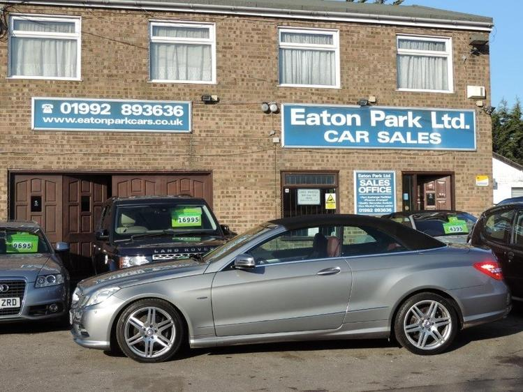 View MERCEDES E CLASS 3.0 E350 CDI BlueEFFICIENCY Sport Cabriolet G-Tronic 2dr