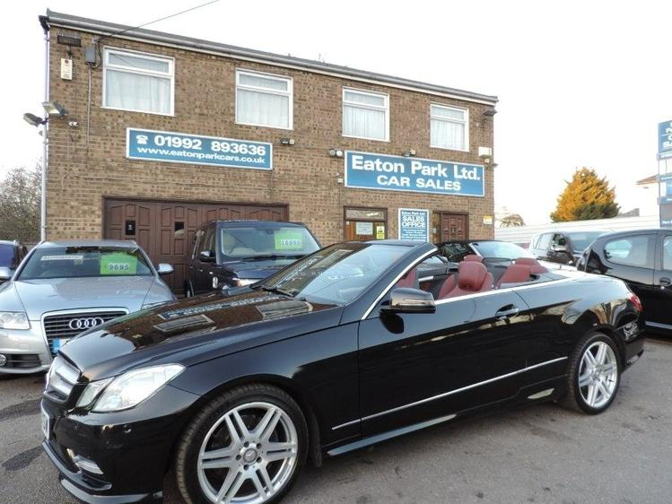 View MERCEDES E CLASS 2.1 E220 CDI BlueEFFICIENCY Sport Cabriolet G-Tronic 2dr