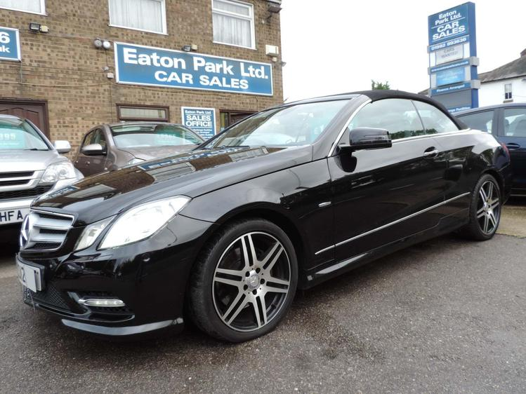 View MERCEDES E CLASS 2.1 E250 CDI BlueEFFICIENCY Sport Edition 125 Cabriolet 7G-Tronic Plus ss 2dr
