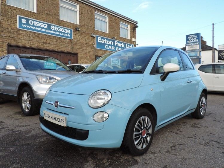 FIAT 500 Start-Stop Colour Therapy - FULL SERVICE HISTORY