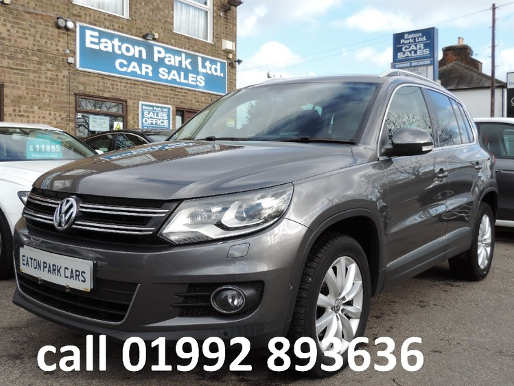 VOLKSWAGEN TIGUAN TDi 177 DSG 4Motion BlueMotion Tech Match Automatic