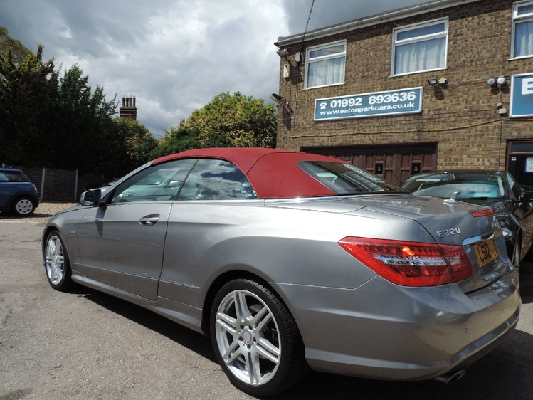 View MERCEDES E CLASS E220 CDi BlueEFFiCiENCY 7G-Tronic Auto Sport
